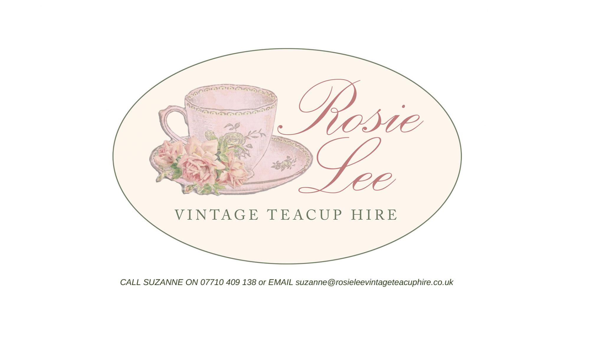 Rosie Lee Vintage Teacup Hire